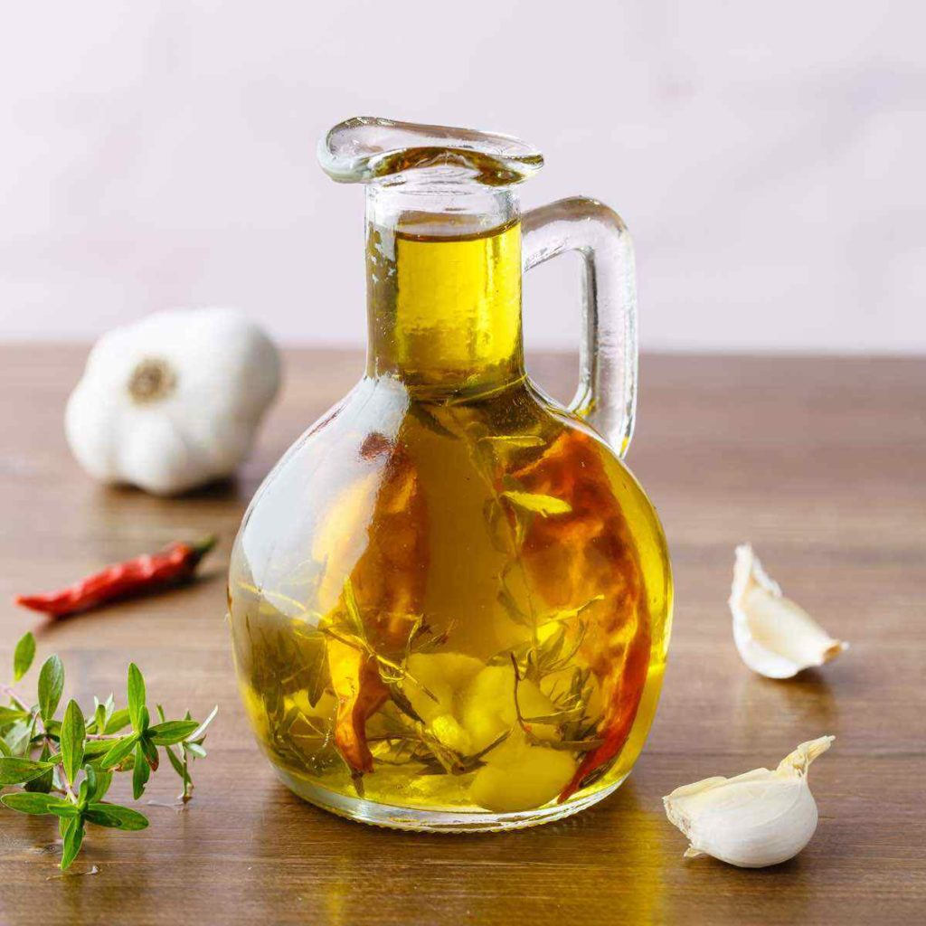 how to make garlic infused olive oil (good with everything)