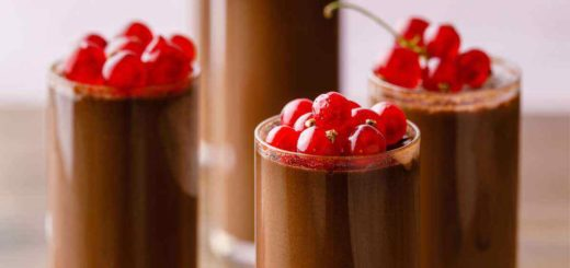 4 Ingredient Chocolate Mousse Recipe