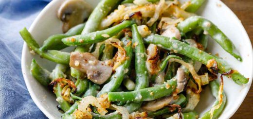 Easy Green Bean Casserole Recipe from Scratch