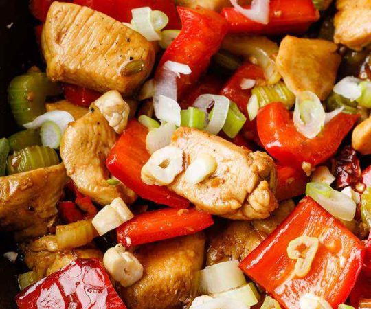 Family Friendly Kung Pao Chicken