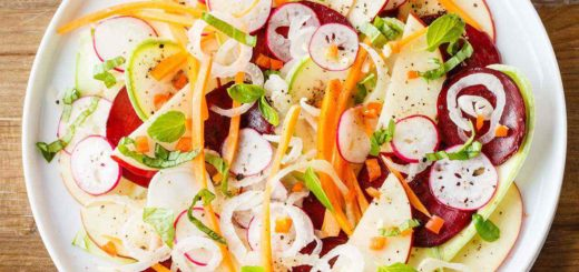 Bright and Fresh Paleo Crudo Salad