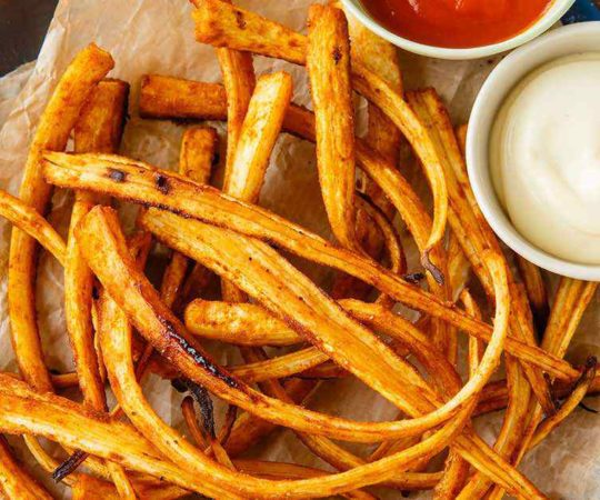 Roasted Parsnip Fries
