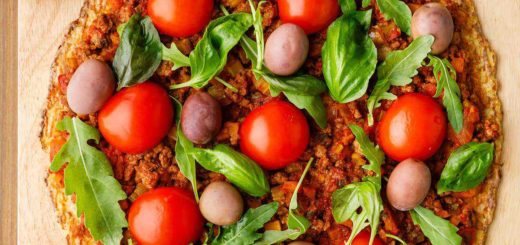 The Best Paleo Bolognese Pizza