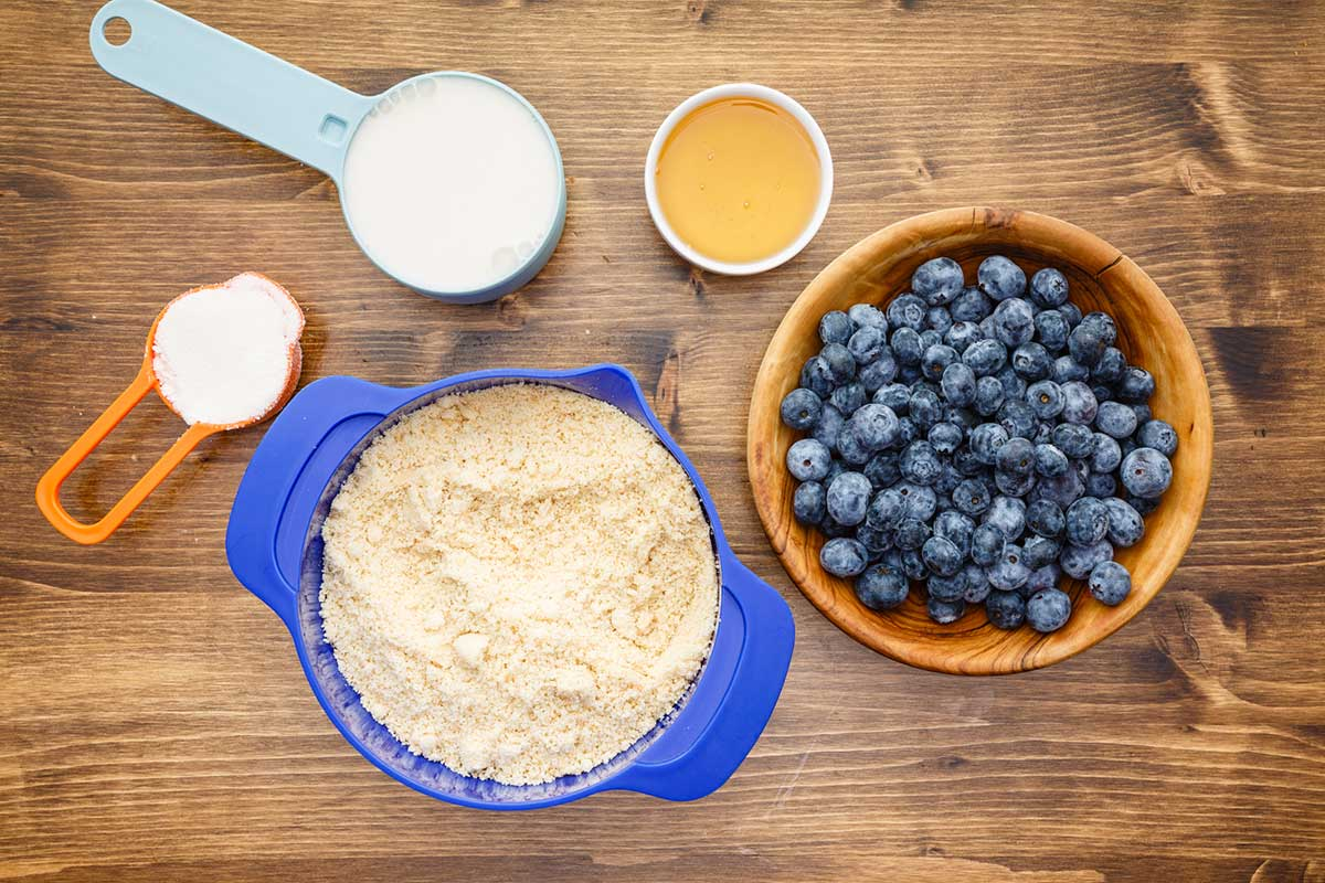 blueberry bread ingredients