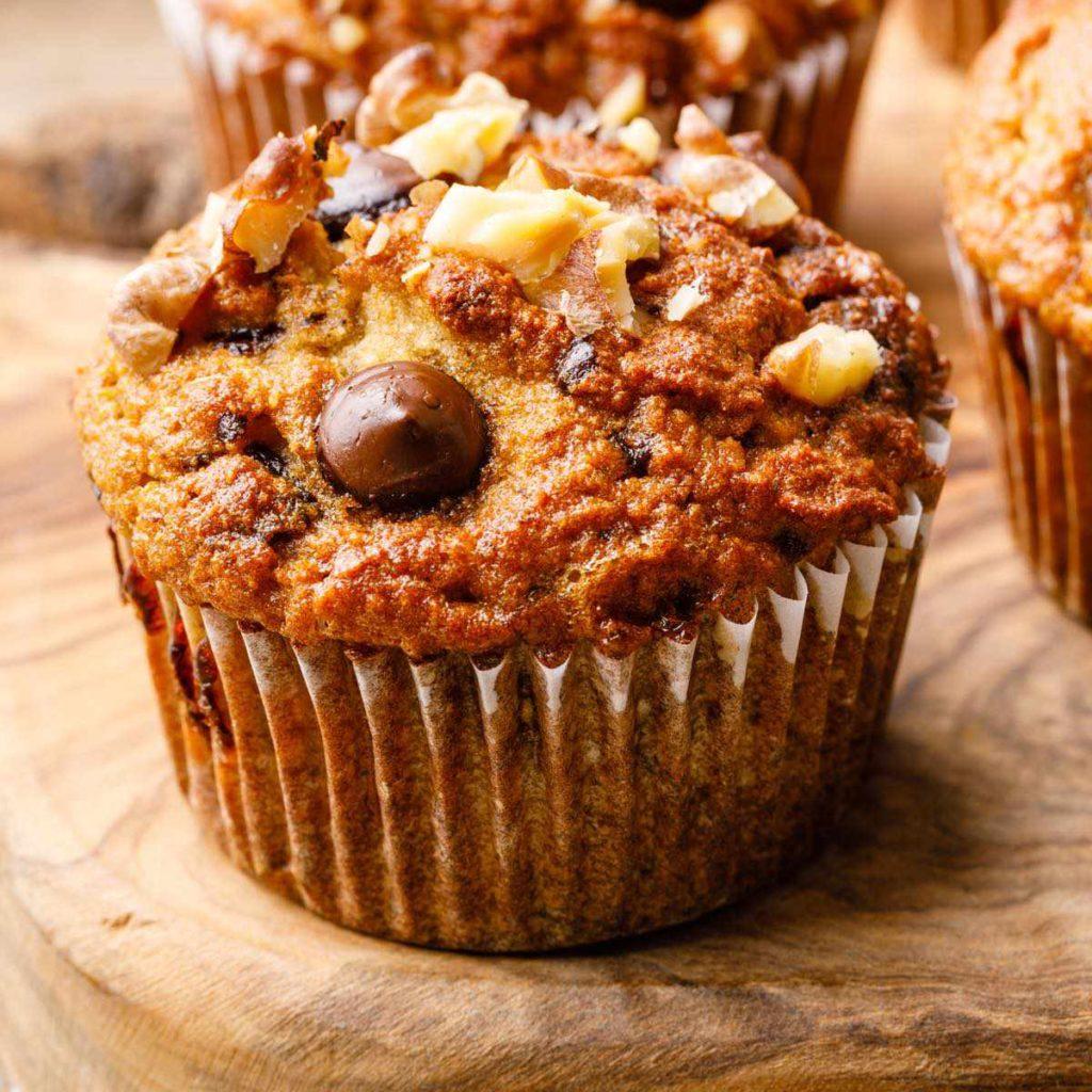 coconut flour banana nut muffin recipe