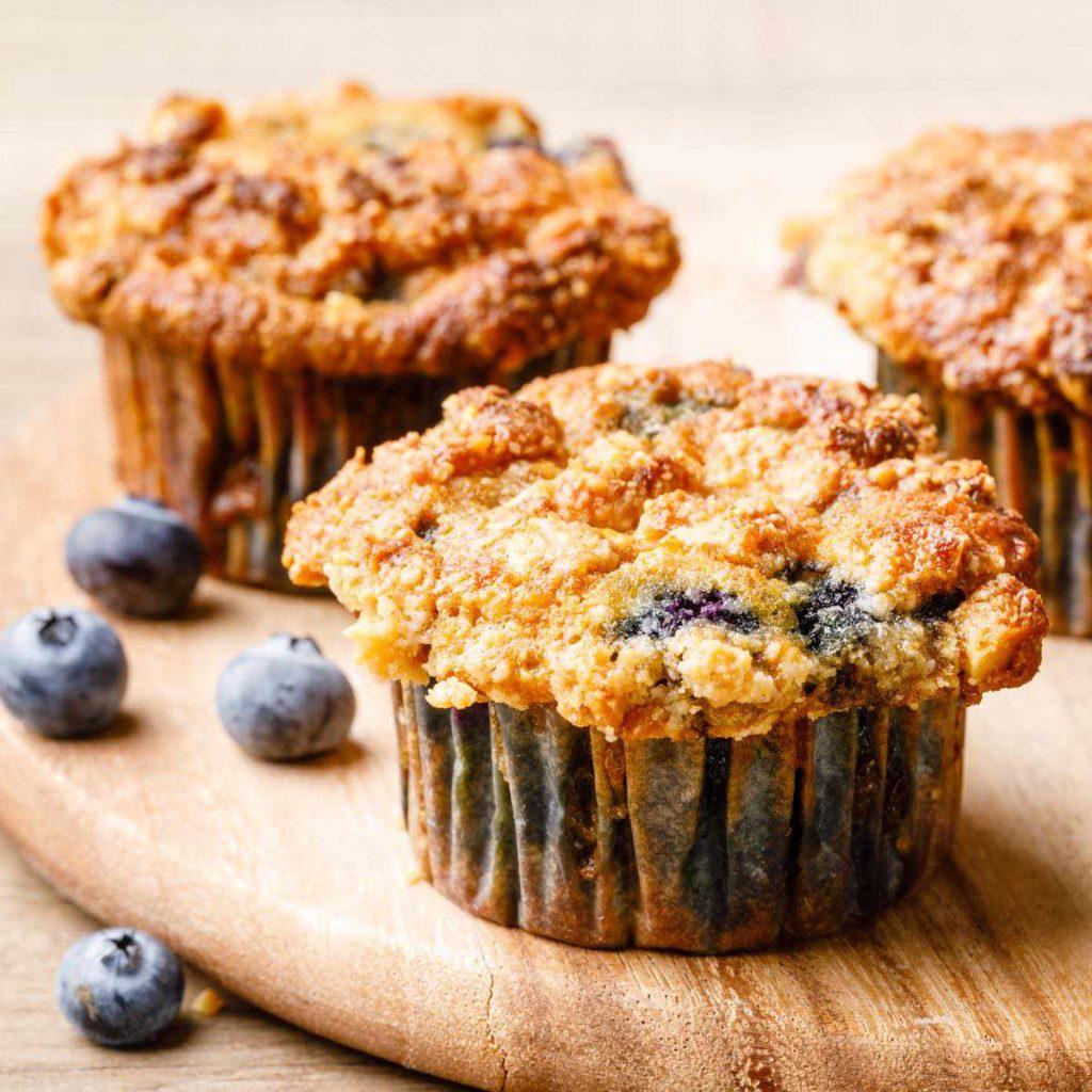 coconut flour blueberry muffin recipe