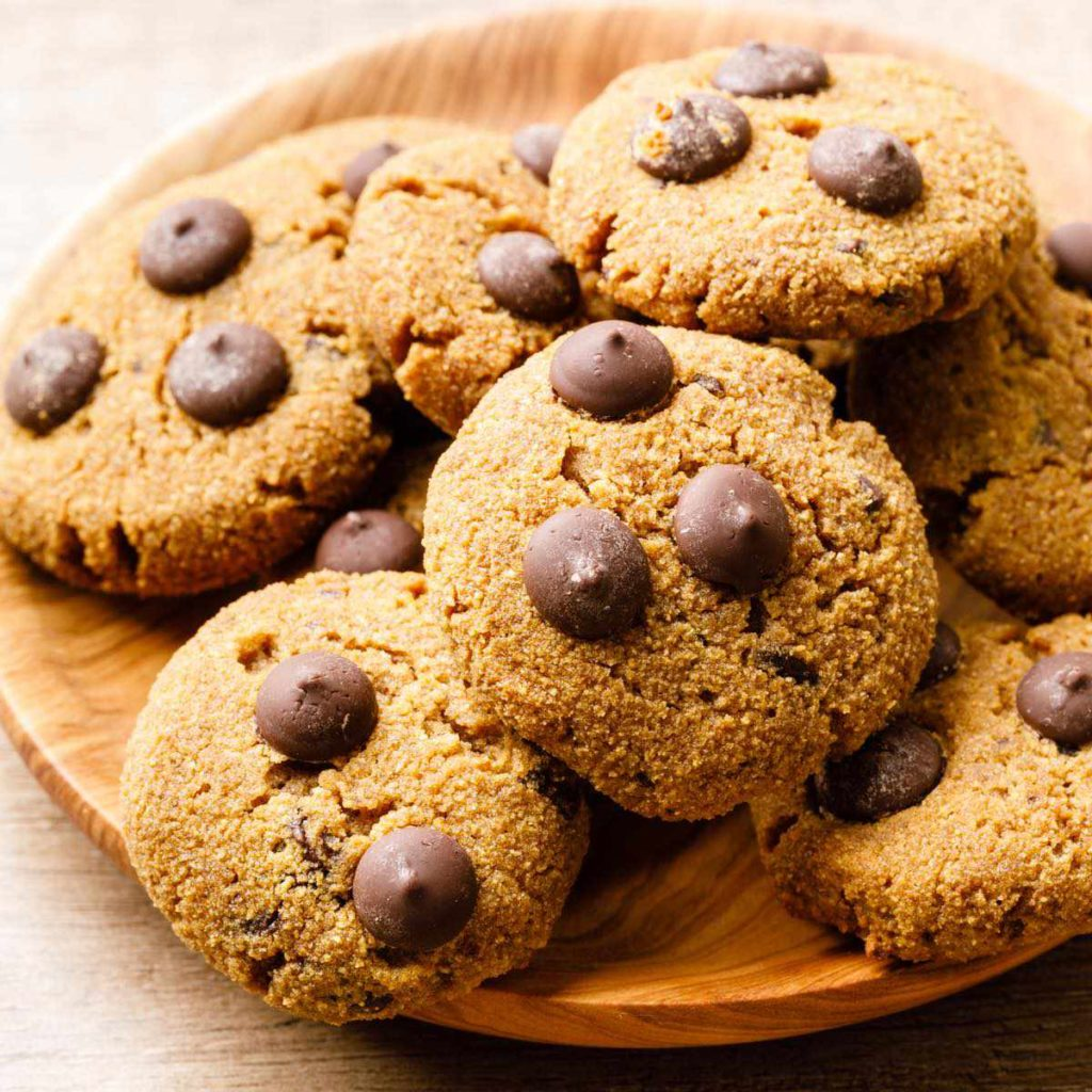 coconut flour chocolate chip cookie recipe