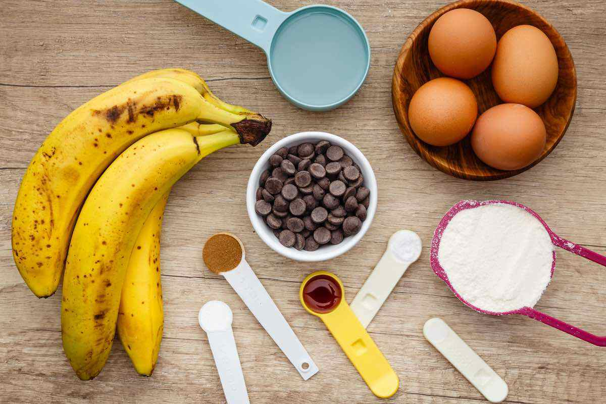 coconut flour banana bread ingredients
