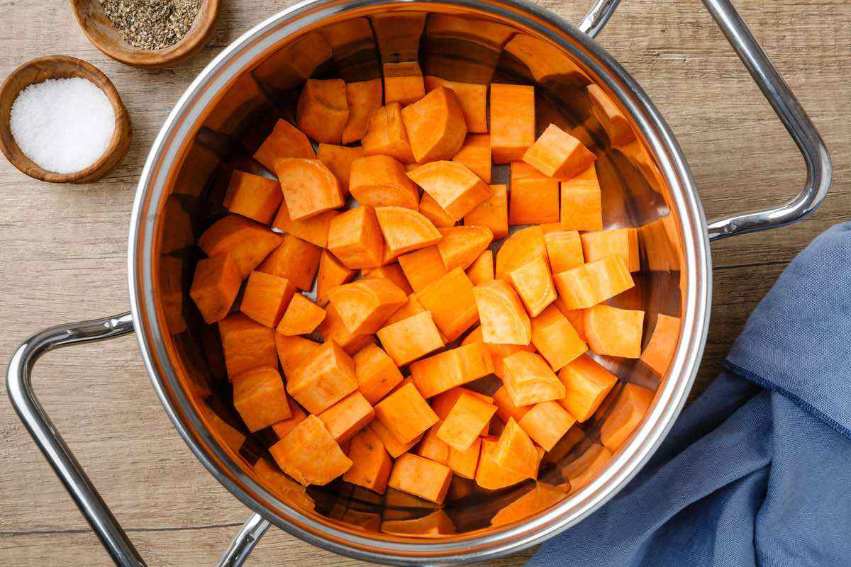 mashed sweet potato ingredients