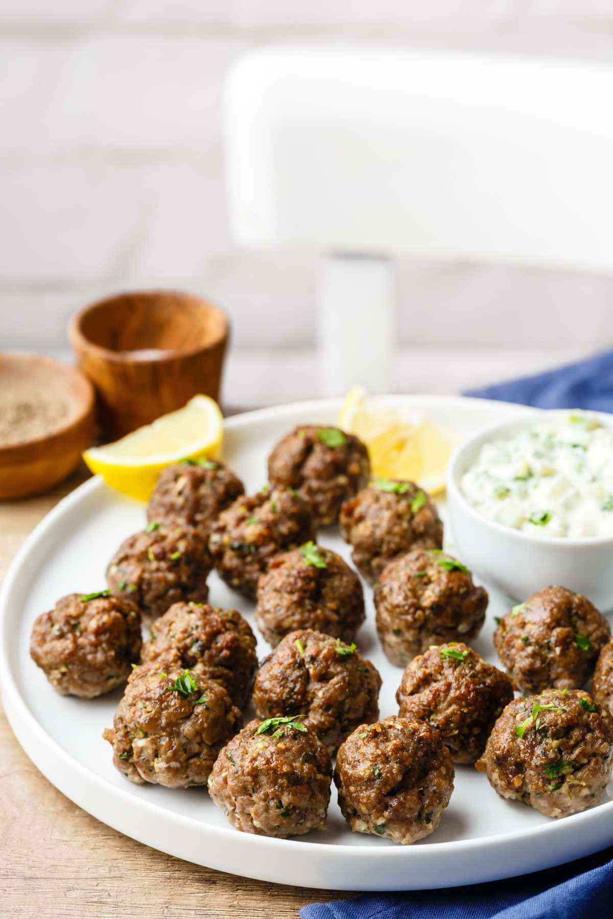 greek paleo meatballs