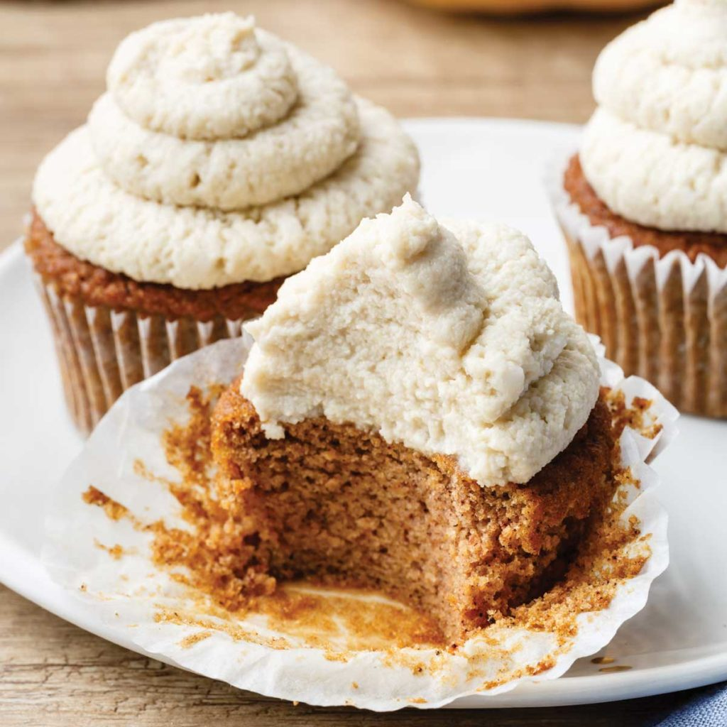 coconut flour pumpkin cupcake recipe