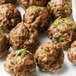 paleo lamb meatballs