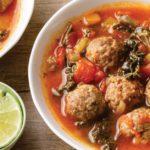 paleo meatball soup