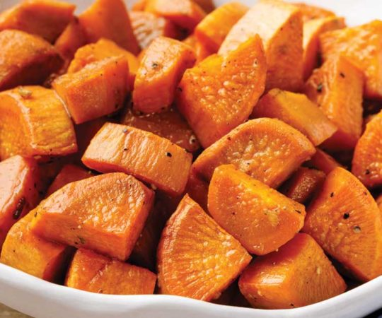 paleo roasted sweet potatoes