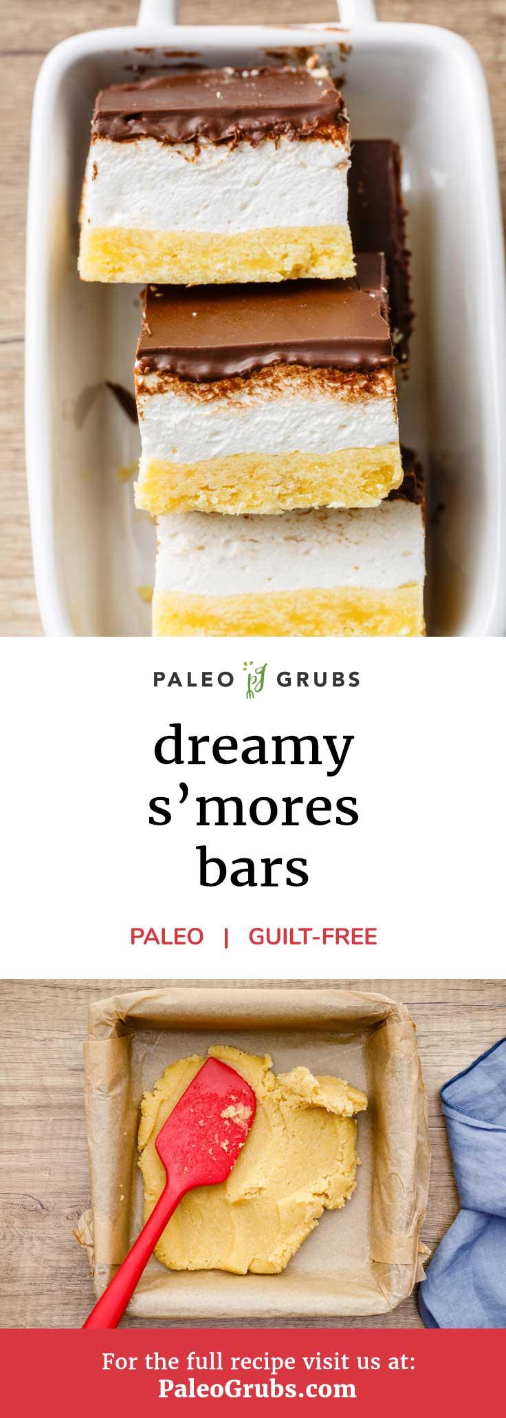 Estas barras s'mores son tan buenas!