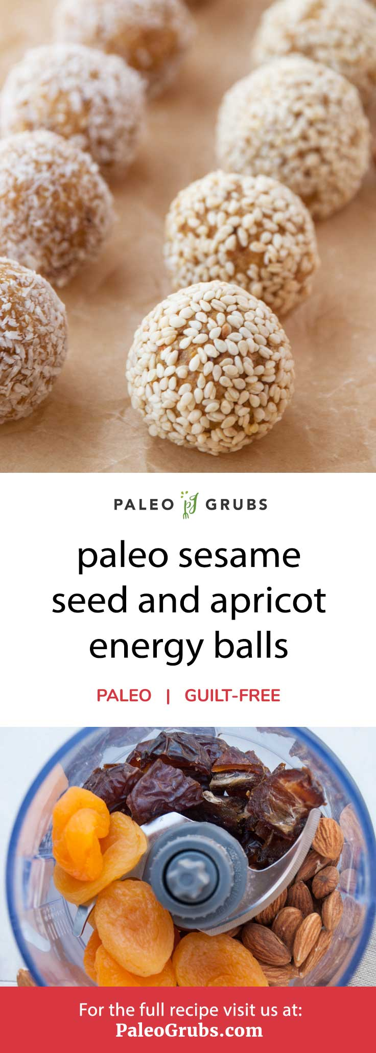 These apricot energy balls are so yum!