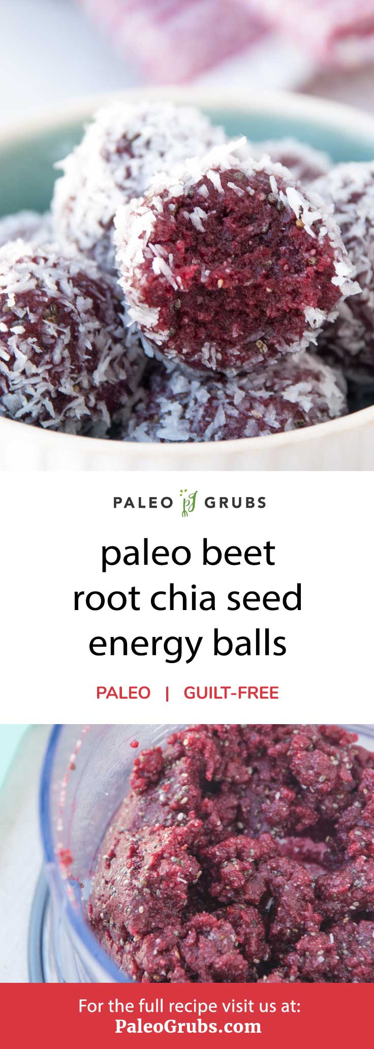 If you love beets, you will love these chia seed energy bites!