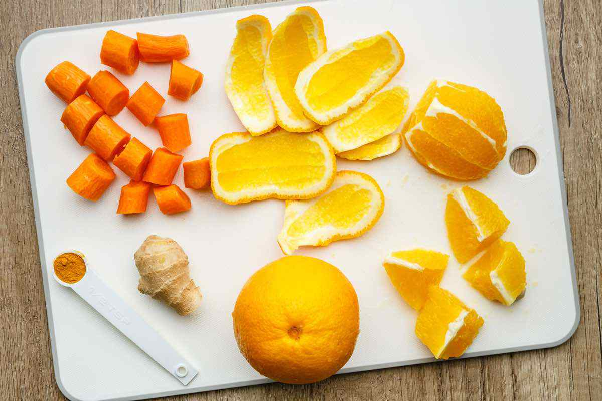 Turmeric Smoothie Ingredients