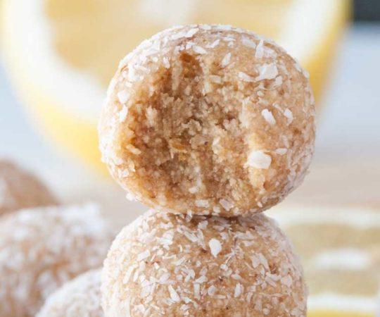 Lemon Pie Energy Balls