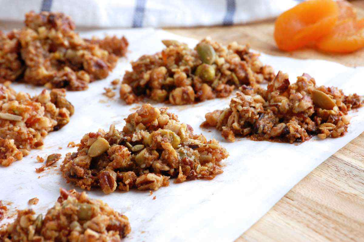 Apricot Granola Nut Clusters