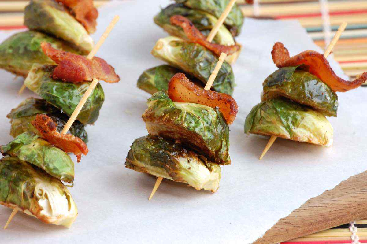 Bacon Brussels Sprout Bites