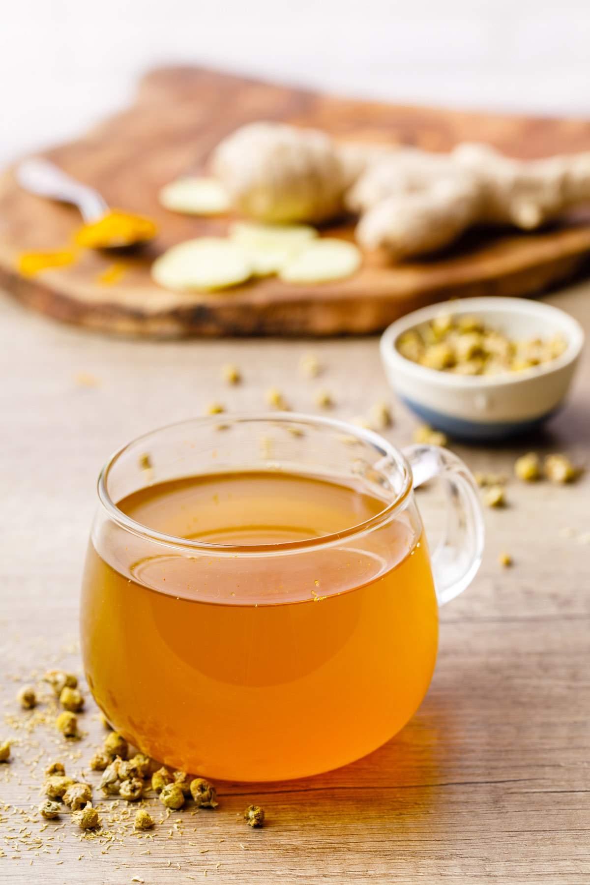 Chamomile Ginger Turmeric Tea