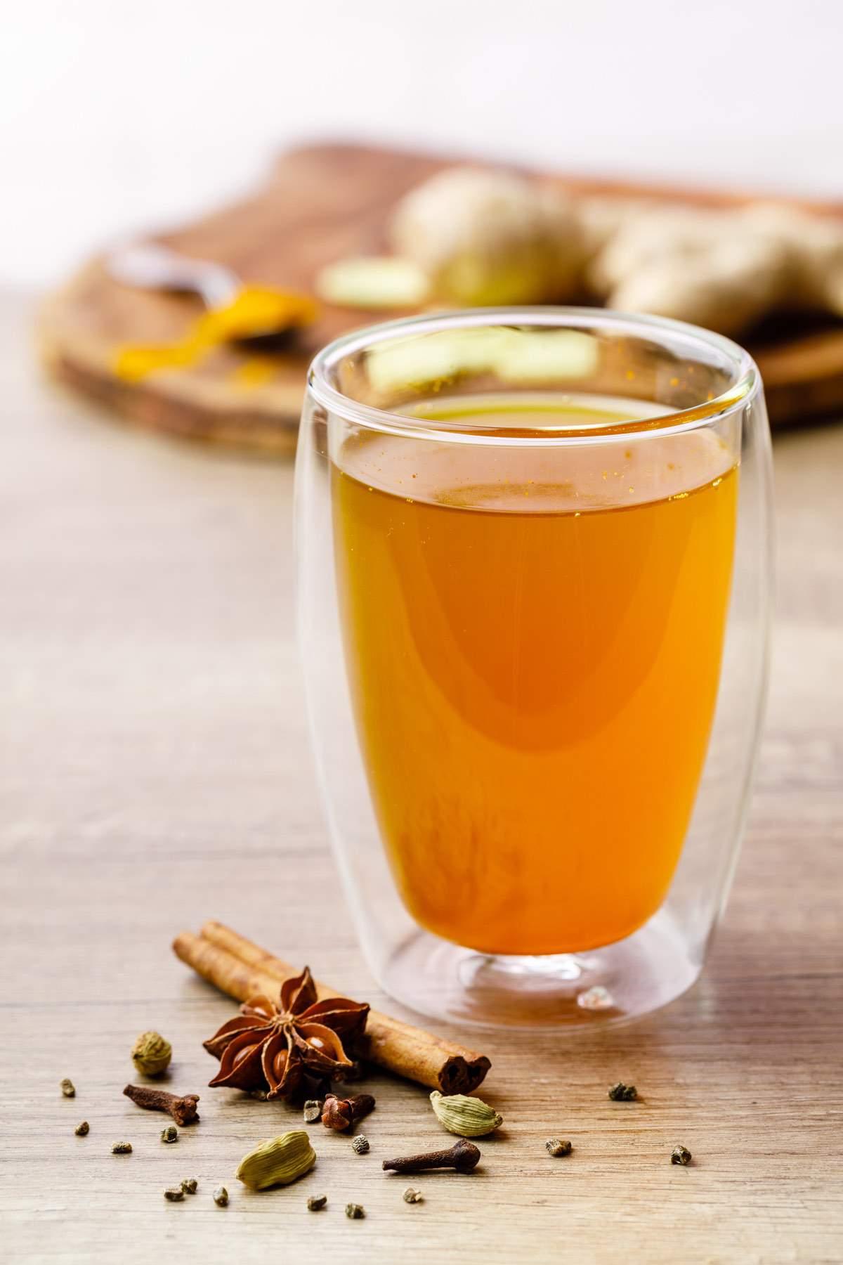 Cinnamon Turmeric Ginger Tea