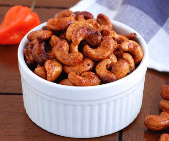 Garlic Habanero Cashews