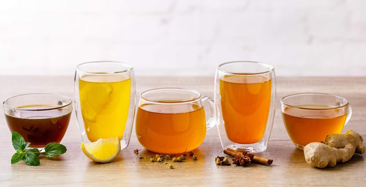 Recetas de té de jengibre de cúrcuma