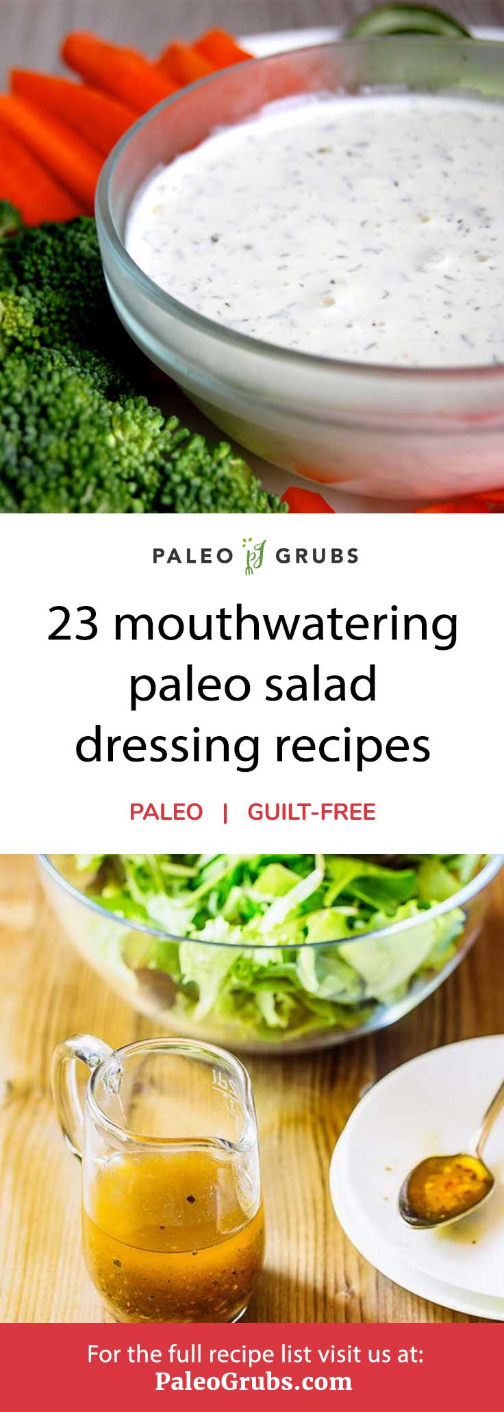 Try one of these out of this world dairy-free, paleo-friendly salad dressing recipes.
