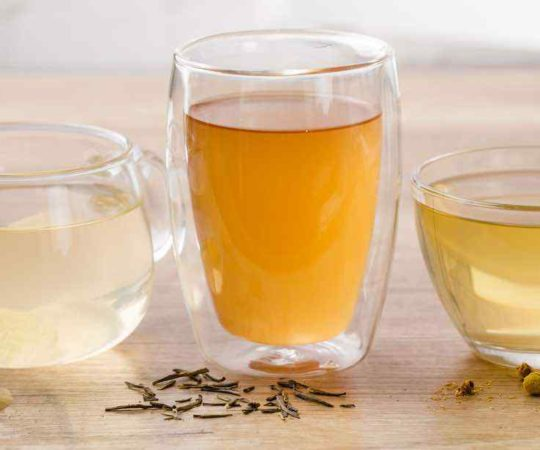 Lemon, Ginger and Basil Iced Tea for Detox | Paleo Grubs