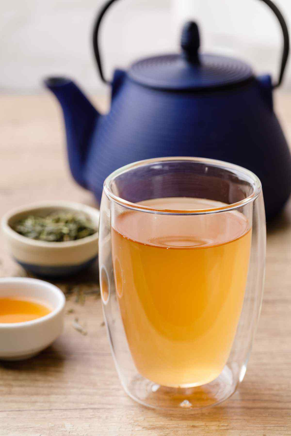 Apple Cider Vinegar Green Detox Tea