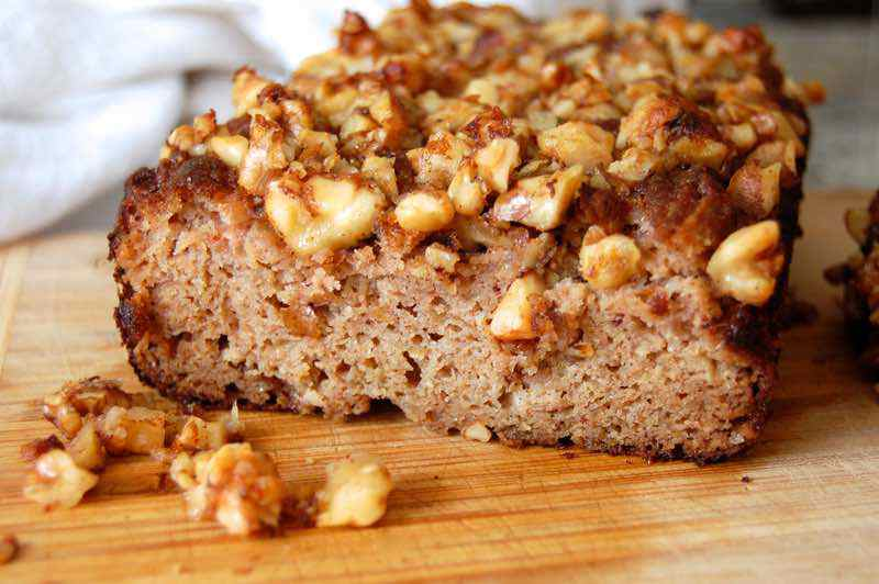 Apple Cinnamon Paleo Coffee Cake