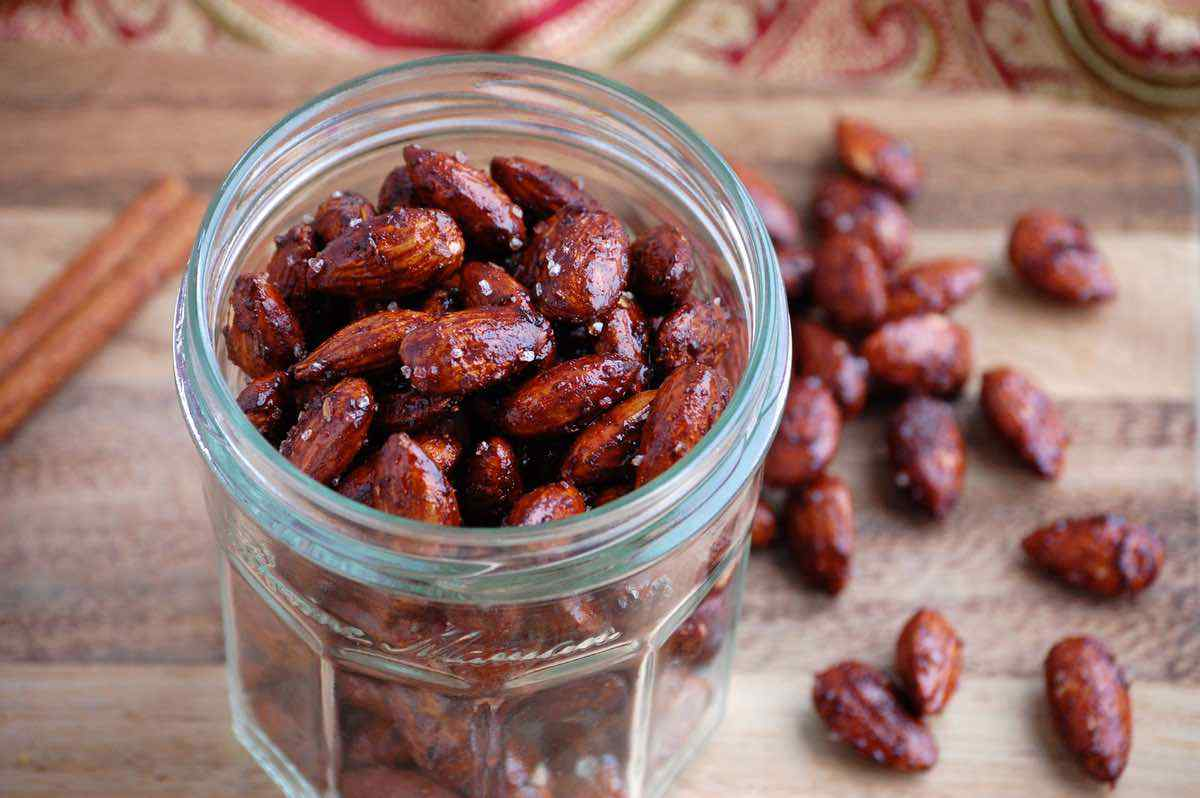 Chai Spiced Almonds