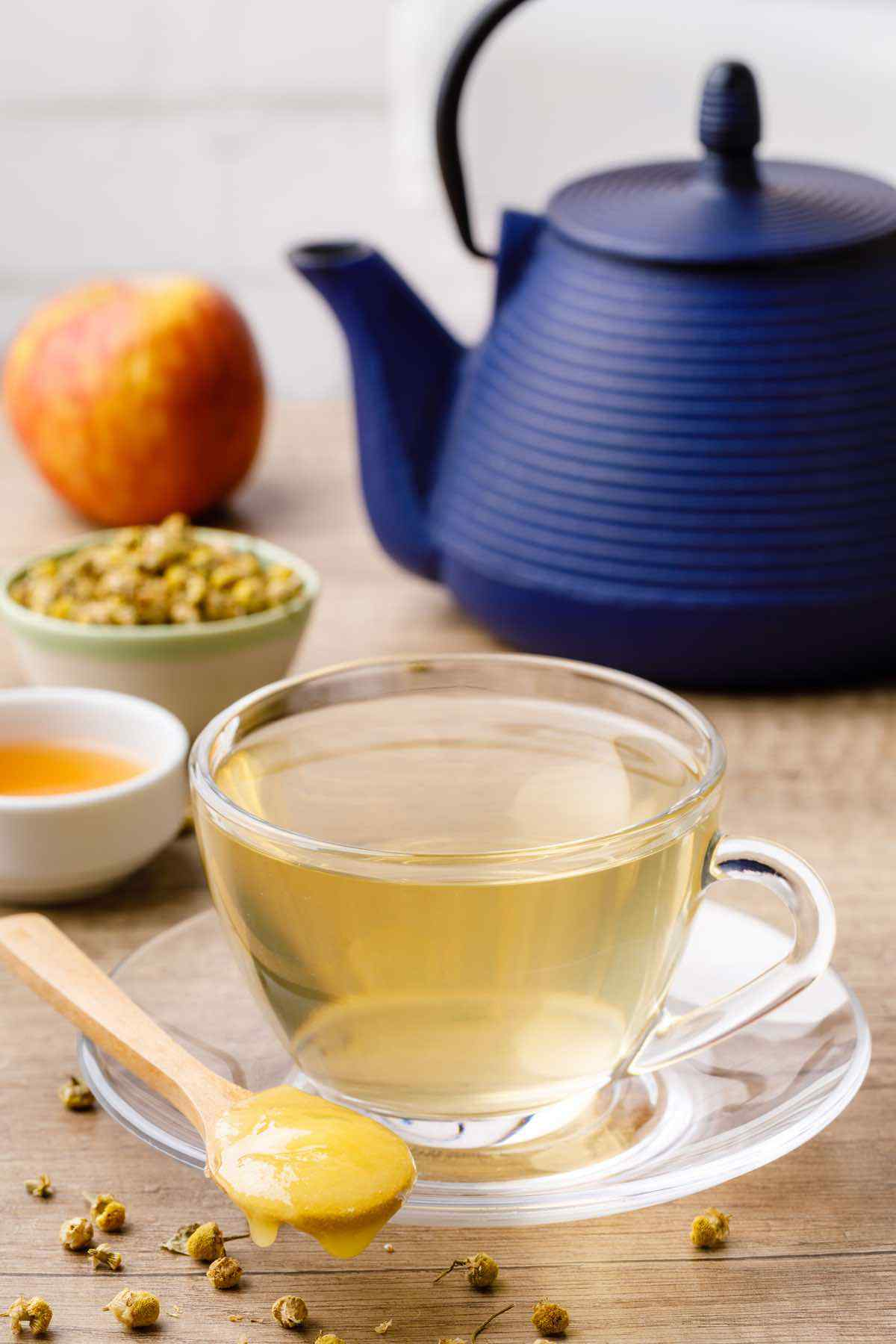 Chamomile Apple Cider Vinegar Detox Tea