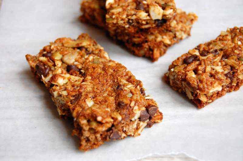 Crunchy Paleo Granola Bars