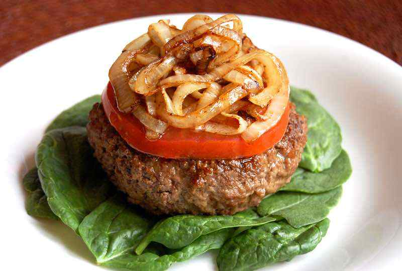 Paleo Ground Beef Burgers