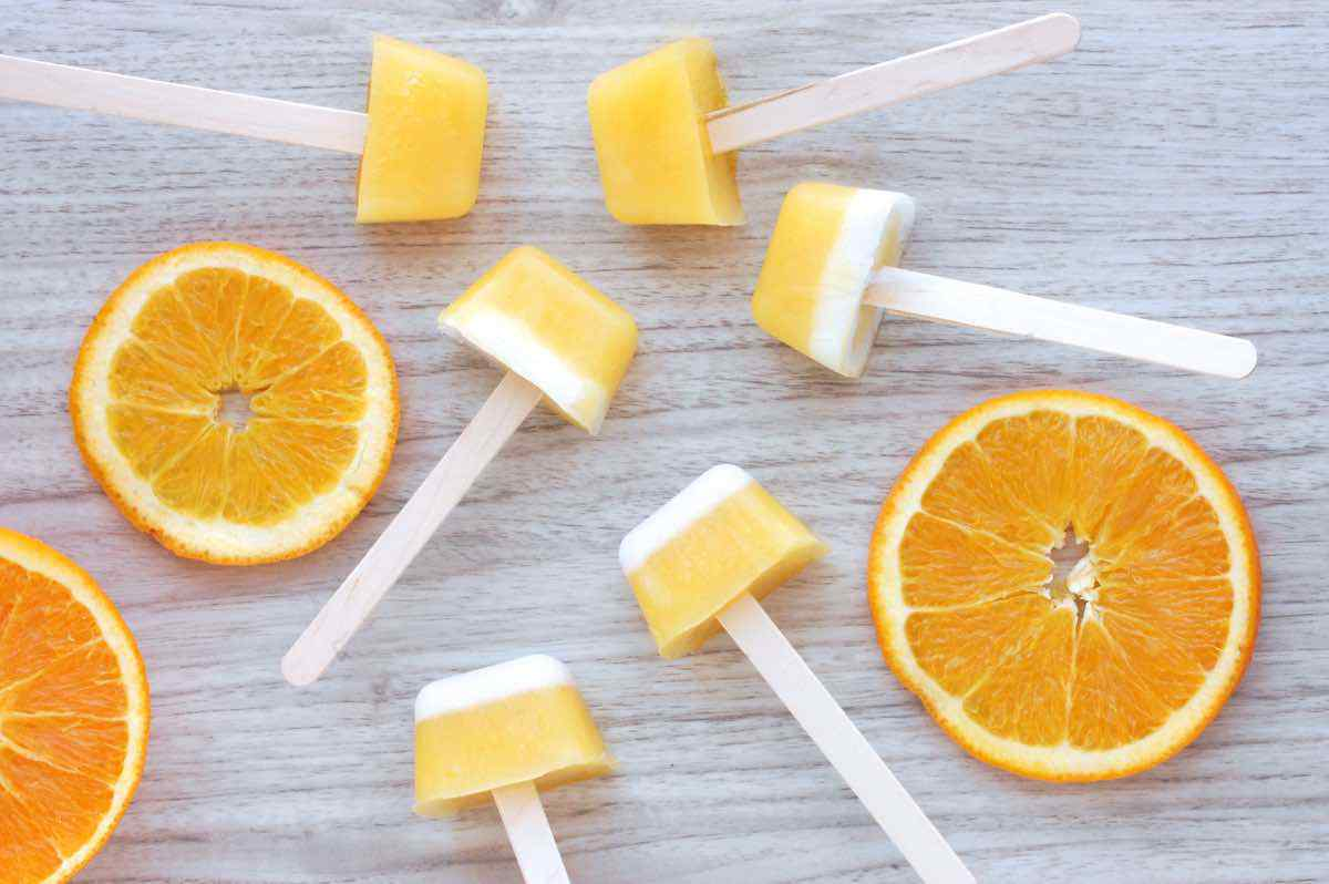 Mini Orange Creamsicles