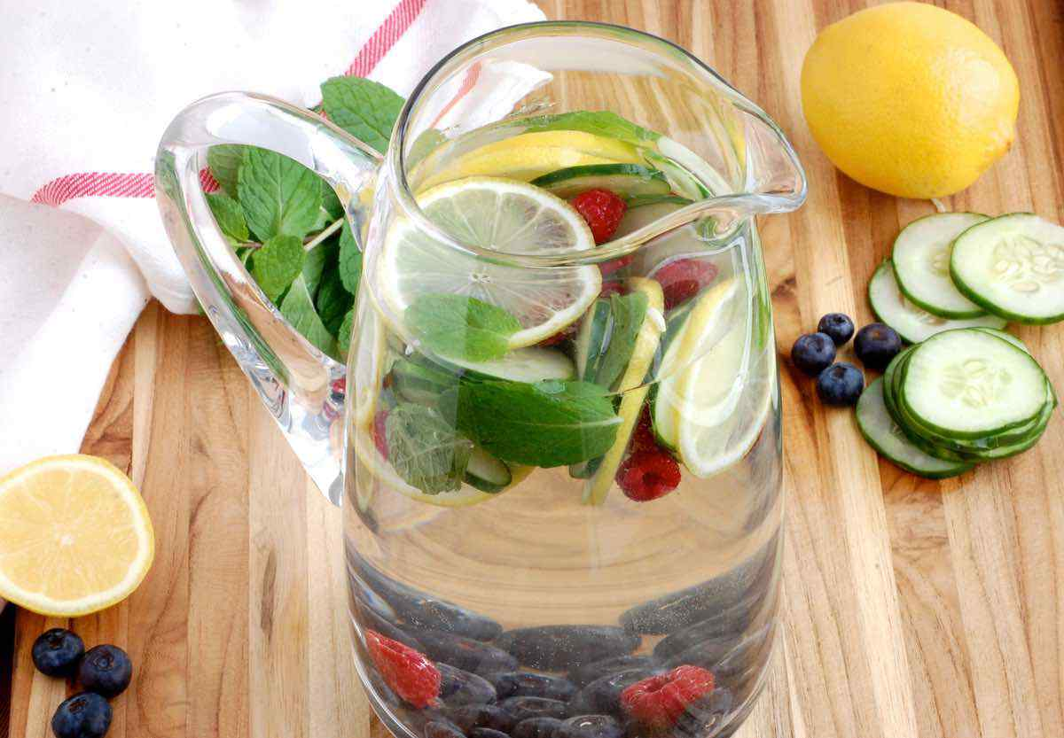 Morning Cleanse Detox Water