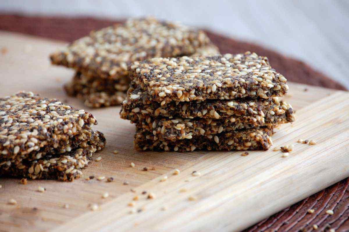 Protein Fiber Crackers