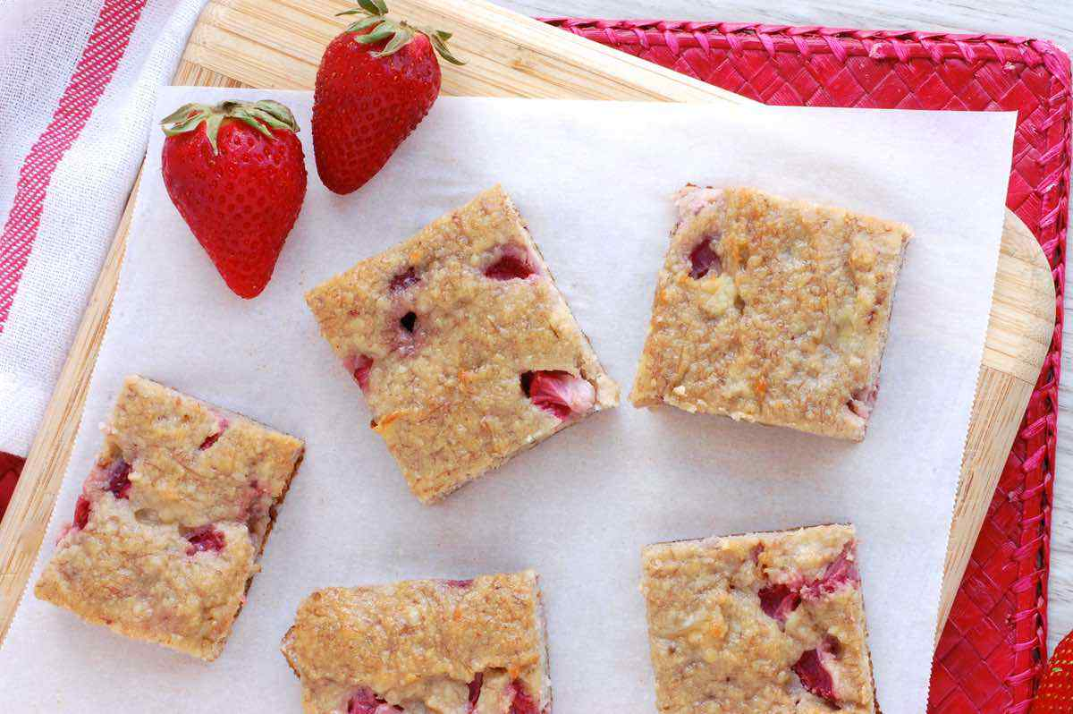 Strawberry Banana Bars
