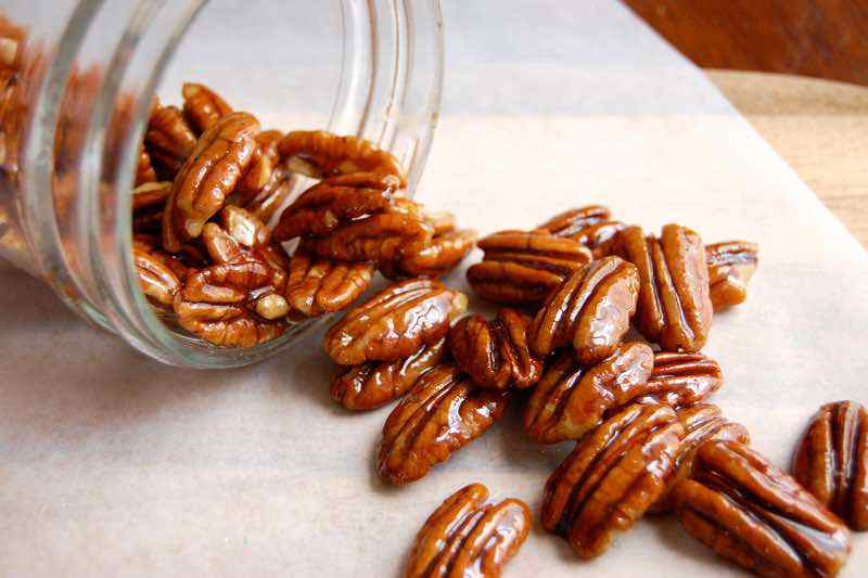 Candied Pecan Paleo Snack