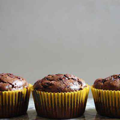 Muffins De Paleo De Zucchini De Chocolate