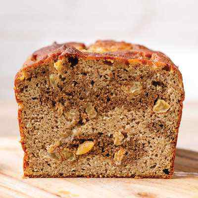 Easy Cinnamon Swirl Banana Bread