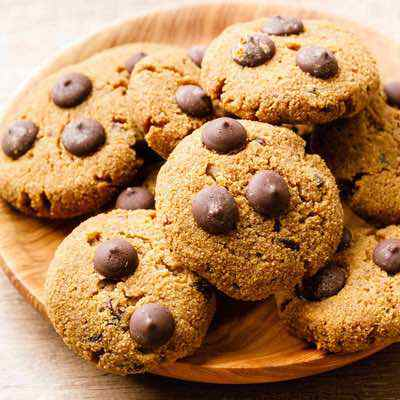 Easy Coconut Flour Chocolate Chip Cookies