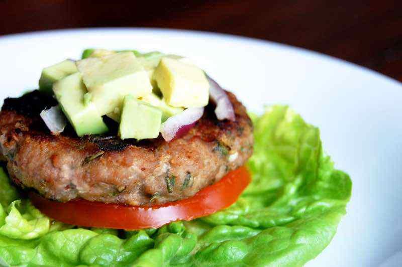 Herbed Paleo Ground Turkey Burgers