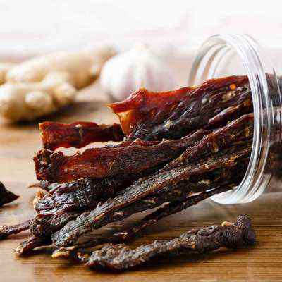 Homemade Grass-Fed Teriyaki Beef Jerky