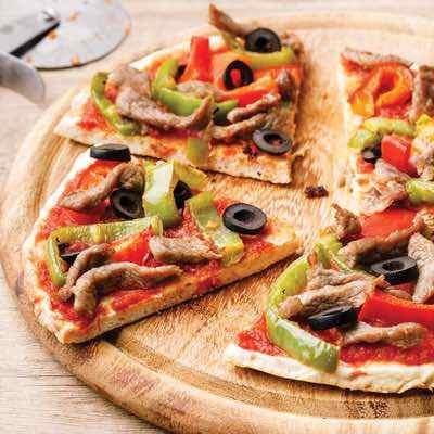 New York Style Paleo Pizza Crust