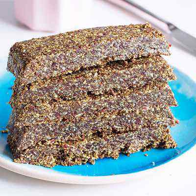 No-Bake Paleo Protein Breakfast Bars