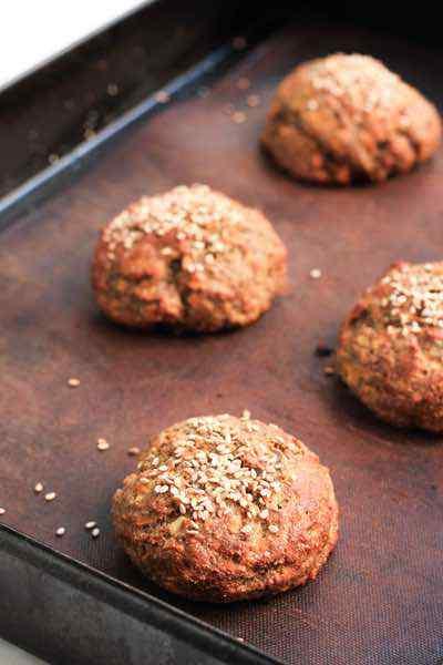 Nut-free Paleo Buns